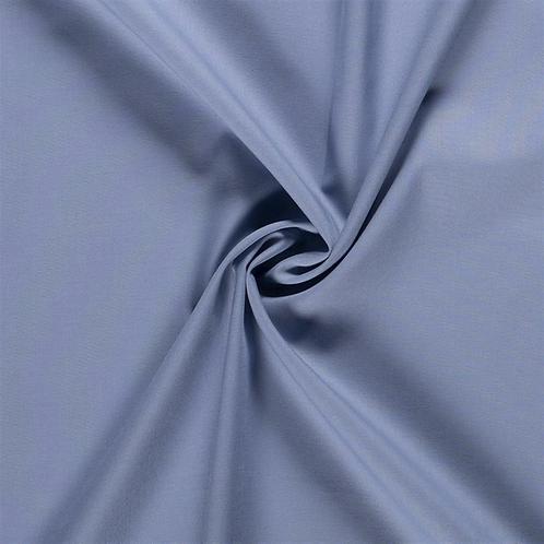 Fahnentuch Lara Uni kalt jeansblau