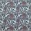 Thumbnail: Baumwolle Frühlingswiese dunkeljeansblau