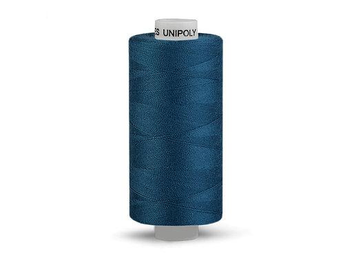Nähgarn aus Polyester Unipoly Wickel 500 m Graublau