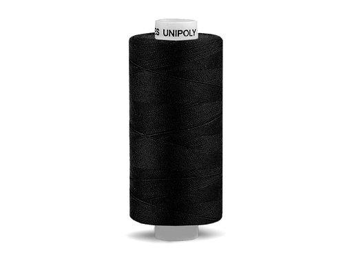 Nähgarn aus Polyester Unipoly Wickel 500 m schwarz