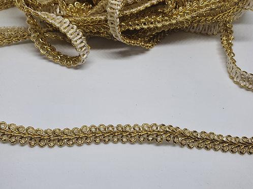 Spitzenband Gold