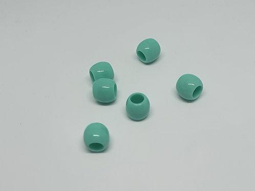 Acryl Perlen  Uni Mint