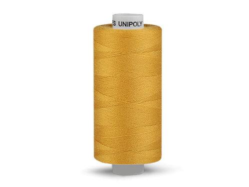 Nähgarn aus Polyester Unipoly Wickel 500 m senfgelb