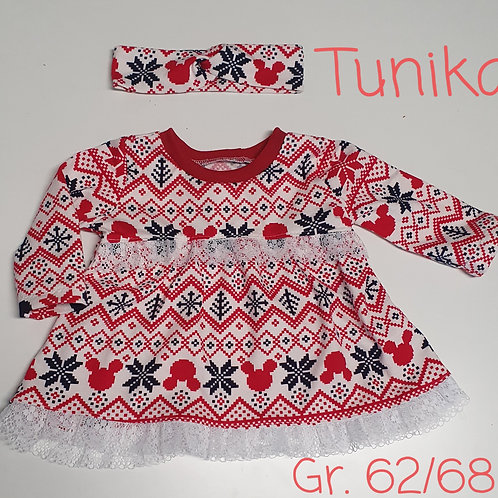 Weihnachts-Tunika Gr. 62/68
