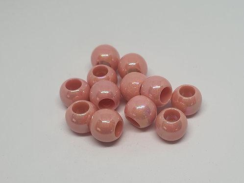 Acryl Perlen Perlmuttschein Rosa