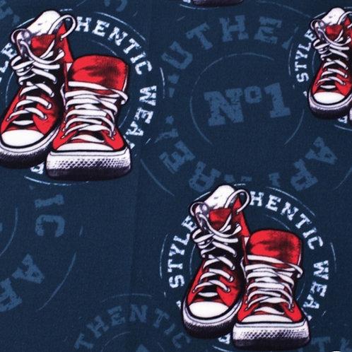 Softshell Sneaker Navi