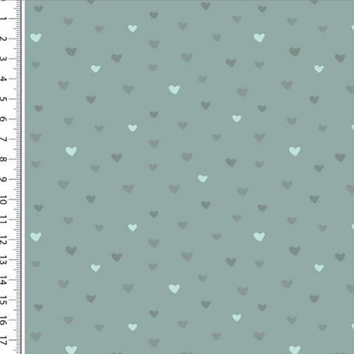 Webware Herzen Mintgrün