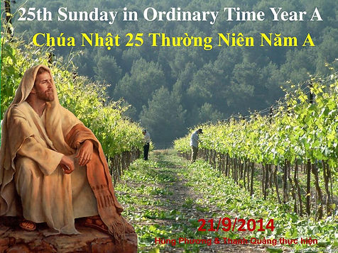25th+Sunday+in+Ordinary+Time+Year+A+Chúa