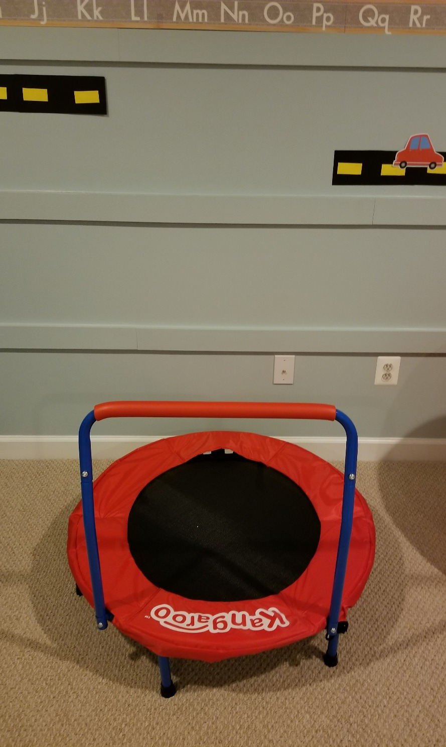 Speech therapy trampoline
