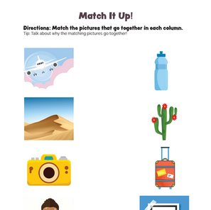 Match It Up! What Goes Together? Worksheet #2