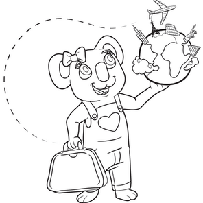 Coloring Page #4