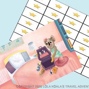 Lola Koala Activity Pack