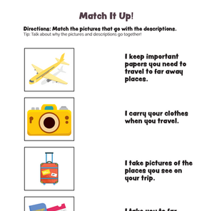 Match It Up! Functions Worksheet