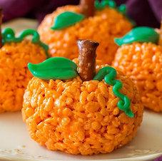 Recipe: Pumpkin Rice Krispies Treats