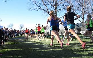 women off-road running triathlon