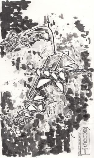 Study of Alexander Calder's Ghost