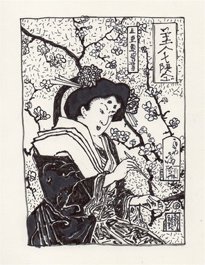 Study of Yoshitoshi's