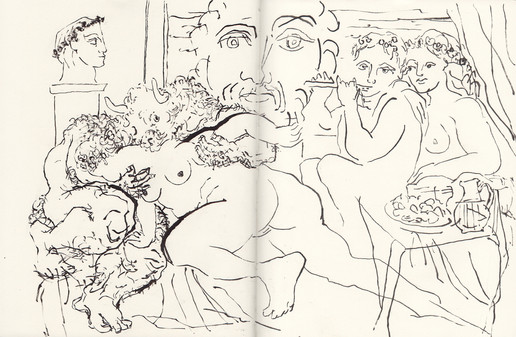 Study of Picasso's