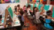 Kids Childrens Birthday Group Paint Art Class Newcastle Tyneside