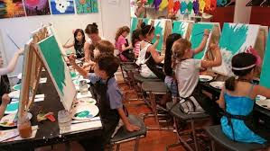 Kids Childrens Birthday Group Paint Art Class Newcastle Tyneside