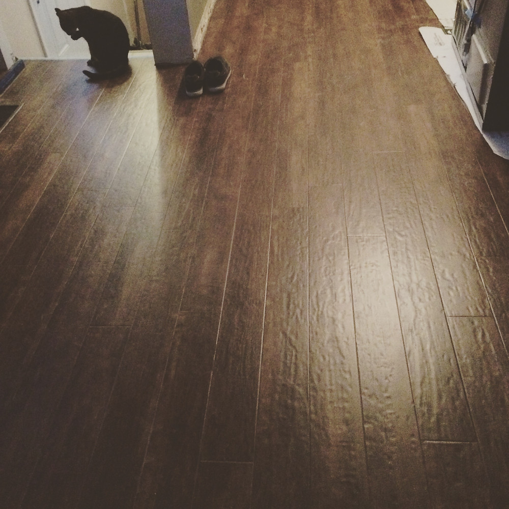 New Laminate Flooring is Easy to install