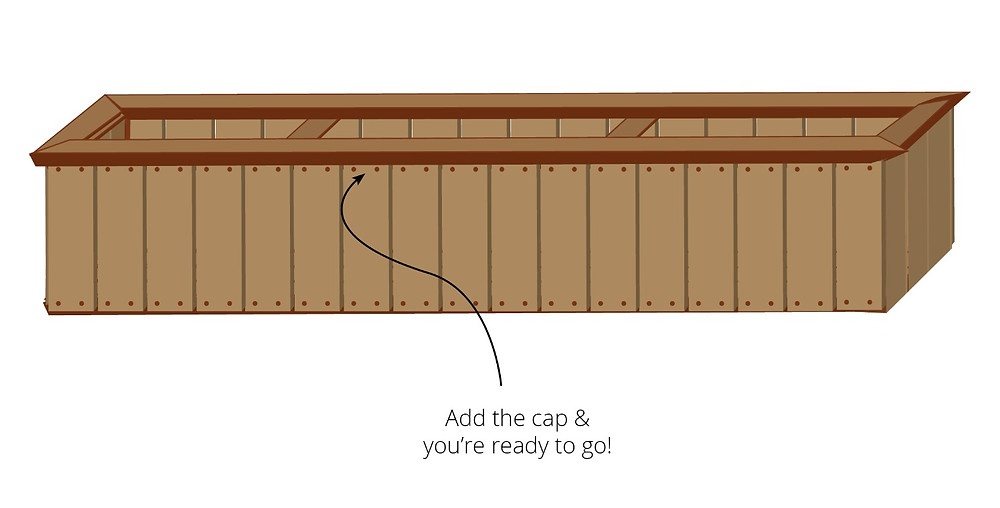 How to build a cedar planter or window box