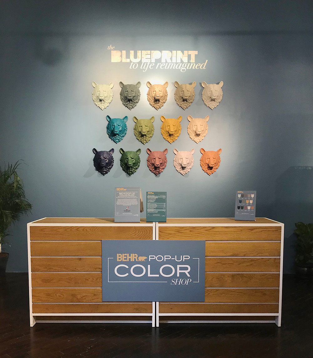 BLUEPRINT: Behr Colour of the Year 2019