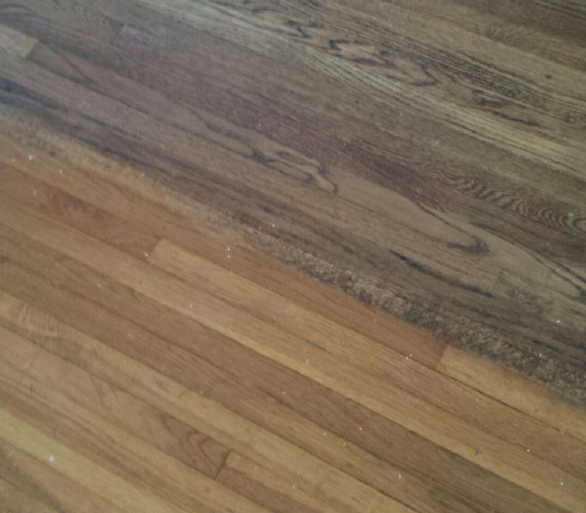Hardwood Flooring with two stains