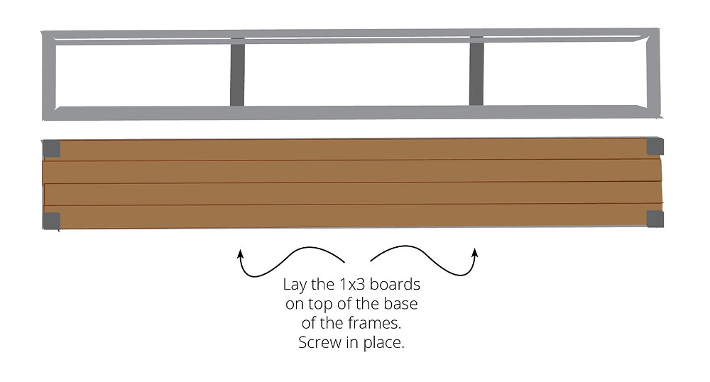 How to build the frame of a cedar planter or window box
