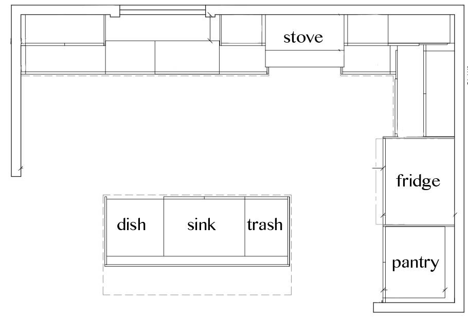 Kitchen Floorplan