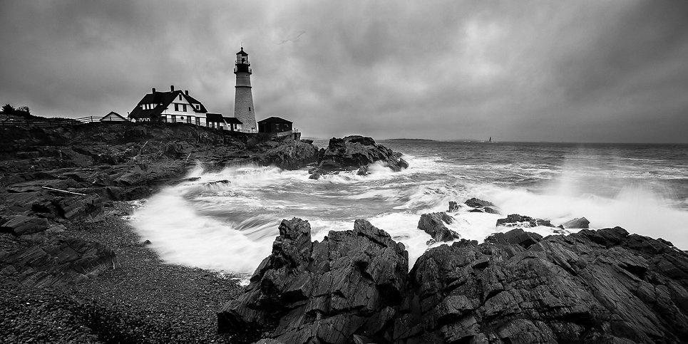 Lighthouse Storm