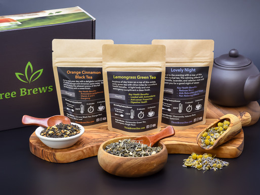 February 2019 Three Brews Tea Box