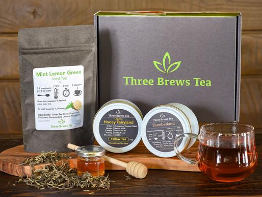 July 2019 Three Brews Tea Box