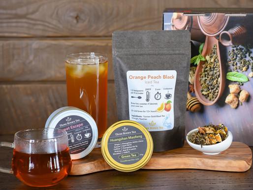 August 2019 Three Brews Tea Box