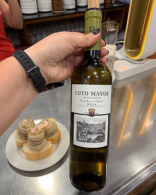 Deze witte Rioja past heel goed bij tapa