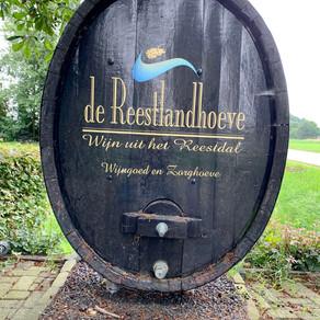Op wijnbezoek bij de Reestlandhoeve + proefnotities