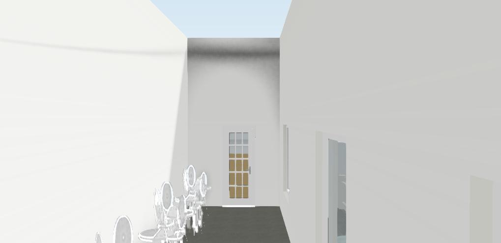 Cafe Area / Studio A Entrance