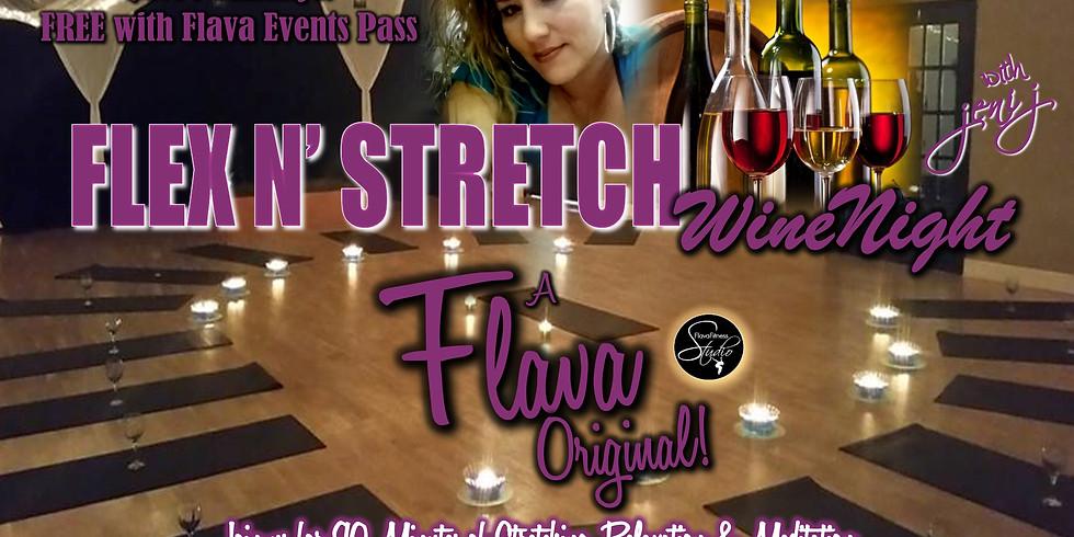 Flex 'N' Stretch Wine Night