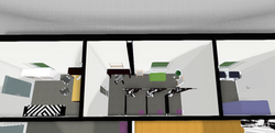 Office / Changing Room / Storage
