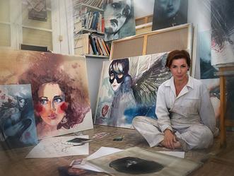 Patricia Gómez. Retratos