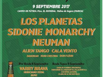 El 9 de septiembre celebrará su XIII edición el B-SIDE FESTIVAL, organizado por el Ayuntamiento de M