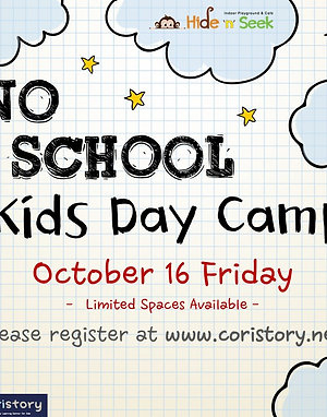 <Oct.16> No School Day Camp