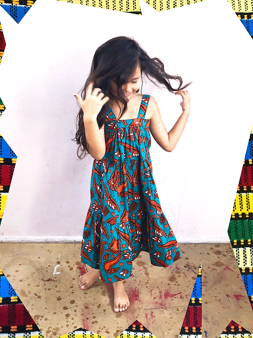 Vestido Baiana Block