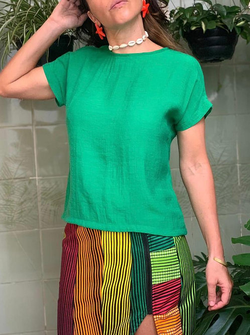 Camisa Lila Esmeralda