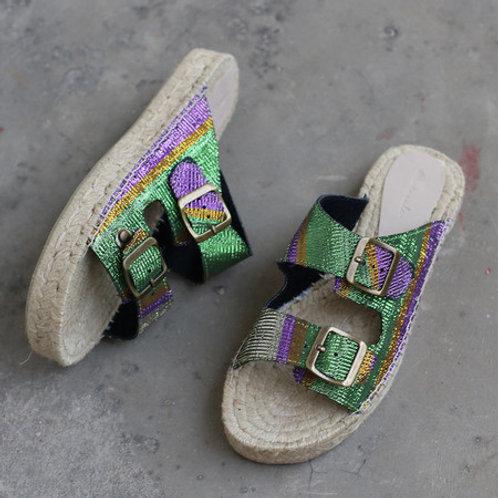 Sandália de Juta Asooke