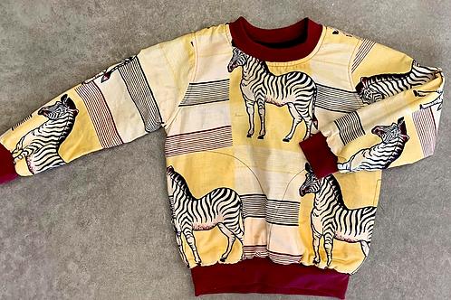Blusa Infantil Zebra Unissex