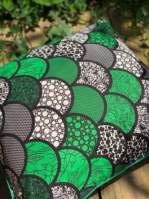 Almofada Décor Verde