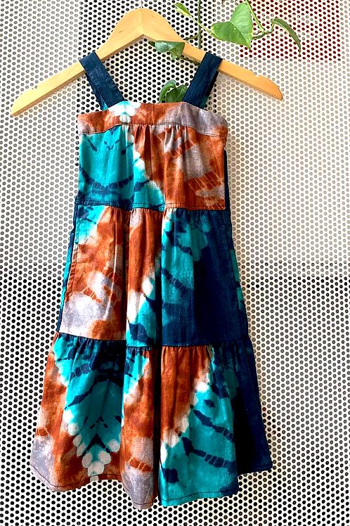 Vestido Baiana Tie Dye
