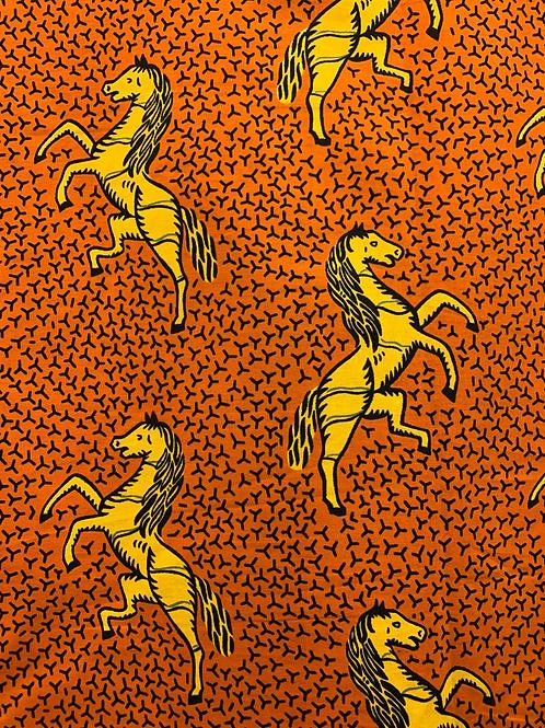 Tecido Cavalos