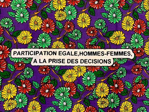 Tecido Dia da Mulher Congo
